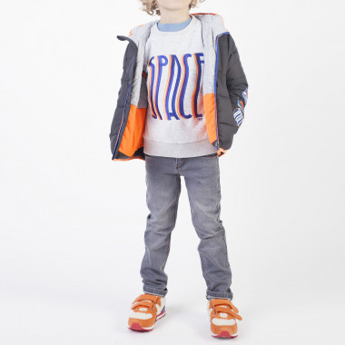 Adjustable cotton trousers BILLYBANDIT for BOY