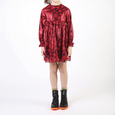 Lined voile print dress LITTLE MARC JACOBS for GIRL