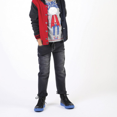 Straight stretch jeans LITTLE MARC JACOBS for BOY