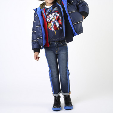 Long-sleeved cotton T-shirt LITTLE MARC JACOBS for BOY