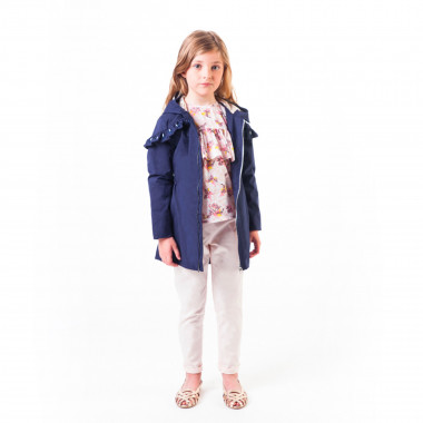 Hooded waterproof parka CARREMENT BEAU for GIRL