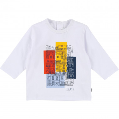 Colourful print T-shirt BOSS for BOY