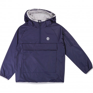 Jersey-lined windbreaker TIMBERLAND for BOY