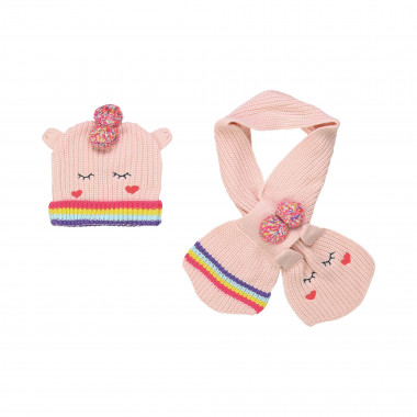 PULL ON HAT+SCARF BILLIEBLUSH for GIRL