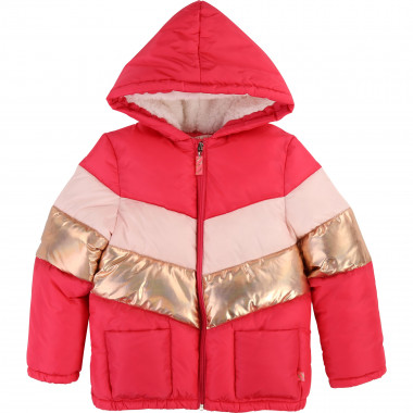 Lined hooded winter jacket  for