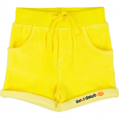 Terry shorts with drawstring BILLYBANDIT for BOY