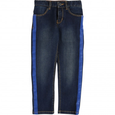 Straight jeans with stripe LITTLE MARC JACOBS for BOY