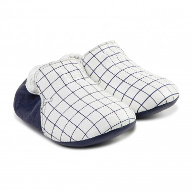 Two-tone checked slippers CARREMENT BEAU for BOY