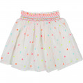 Flared smocked skirt BILLIEBLUSH for GIRL
