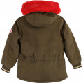 Water-repellent cotton parka LITTLE MARC JACOBS for GIRL